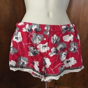Victoria's Secret Pajama Shorts Size XS